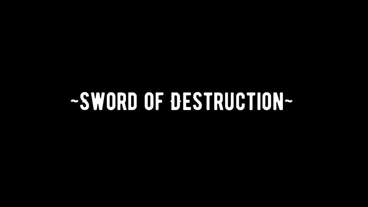 Video poster Sword of Destruction