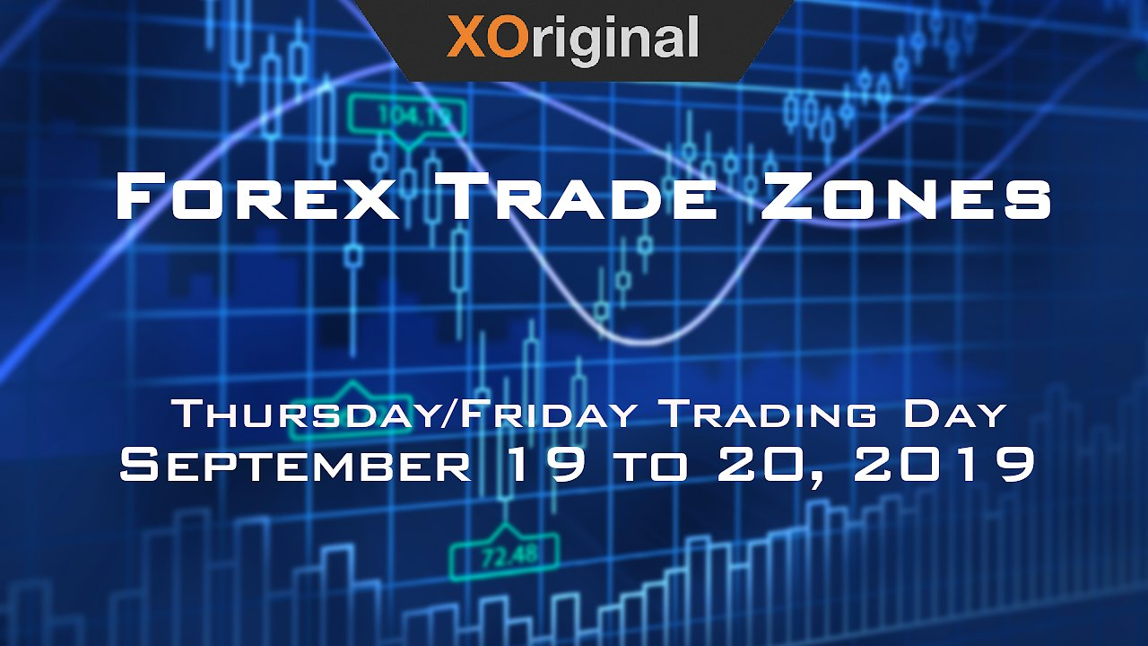 Video poster Forex Trade Zones for September 19 to 20, 2019