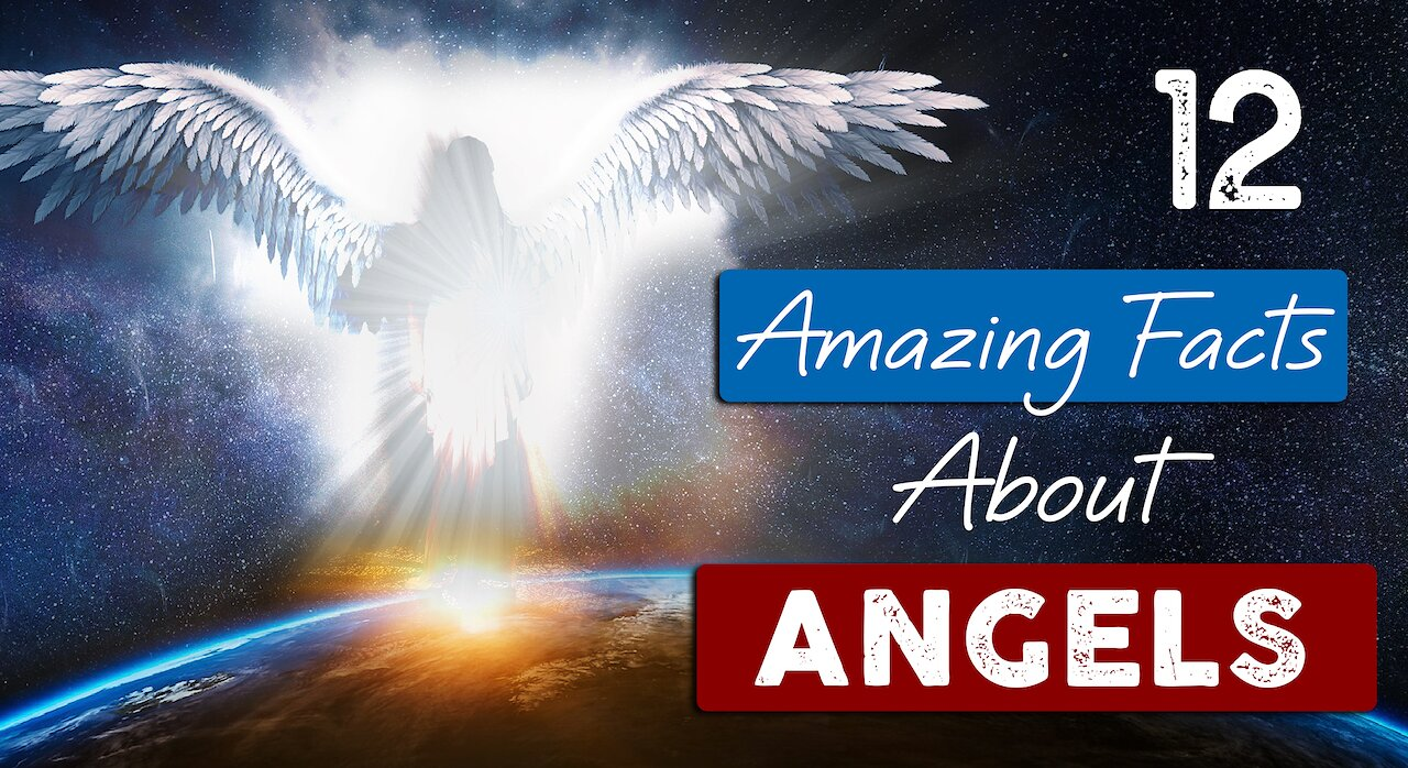 Video poster INCREDIBLE TRUTH about ANGELS | 12 Facts you need to know