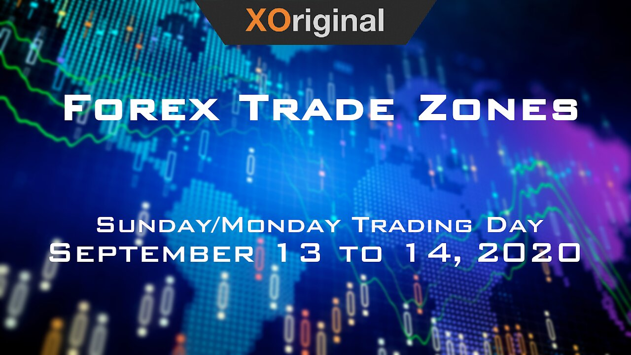Video poster Forex Trade Zones for September 13 to 14,  2020
