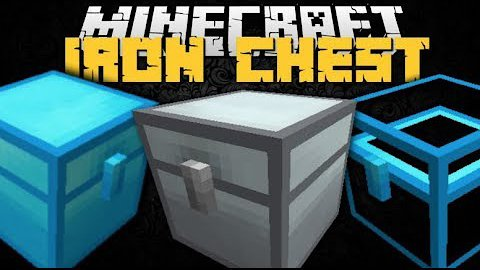 Video poster Iron Chests Mod 1.12.2  MInecraft