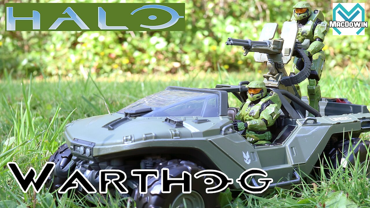 Video poster *NEW* WARTHOG 2020 | 4 Inch Vehicle Review | Halo from Jazwares