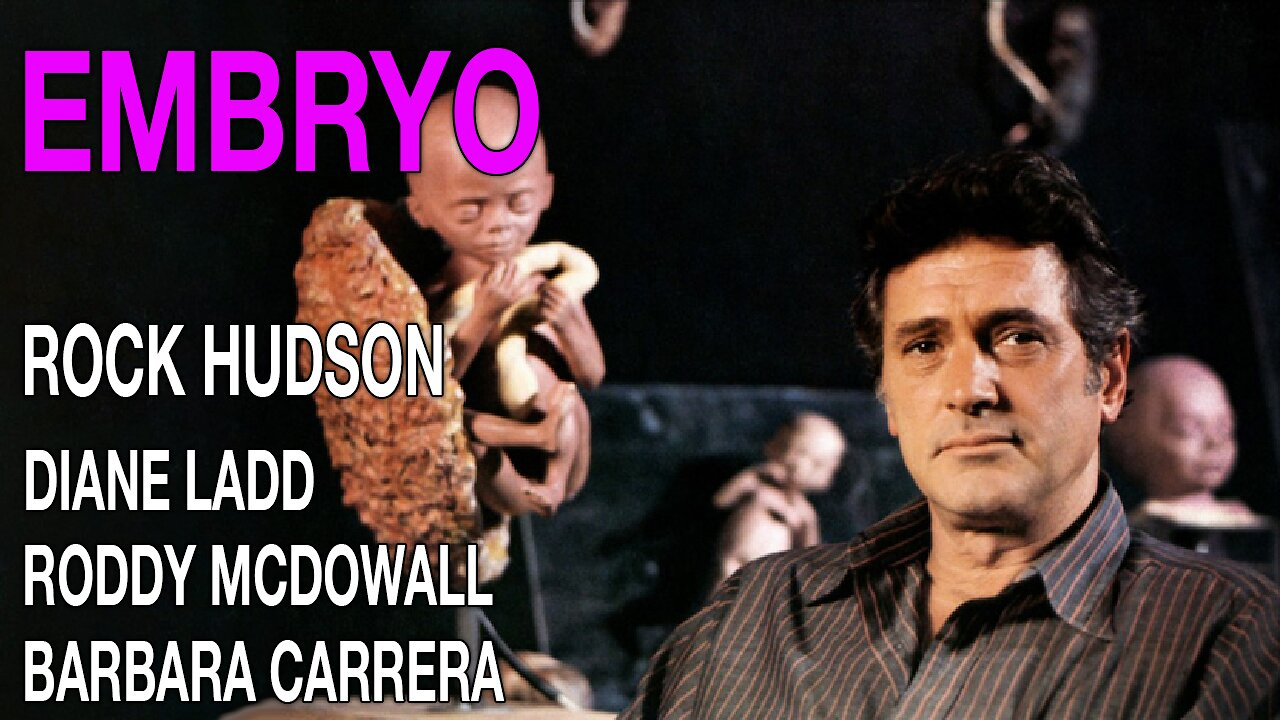 Video poster Rock Hudson: Embryo