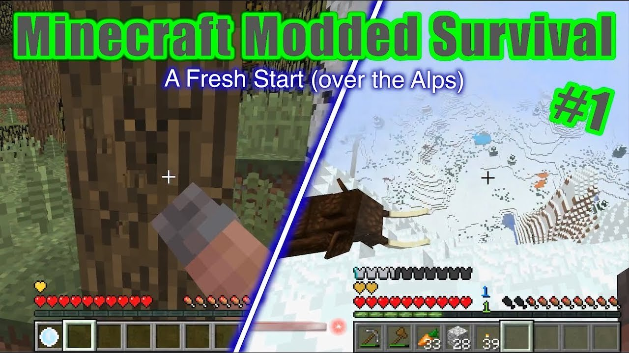 Video poster A Fresh Start  Minecraft Modded Survival #1