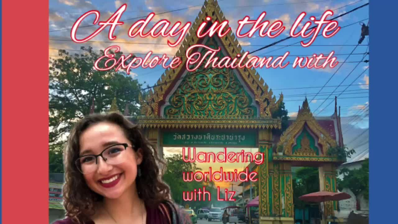 Video poster A day in the life in Thailand