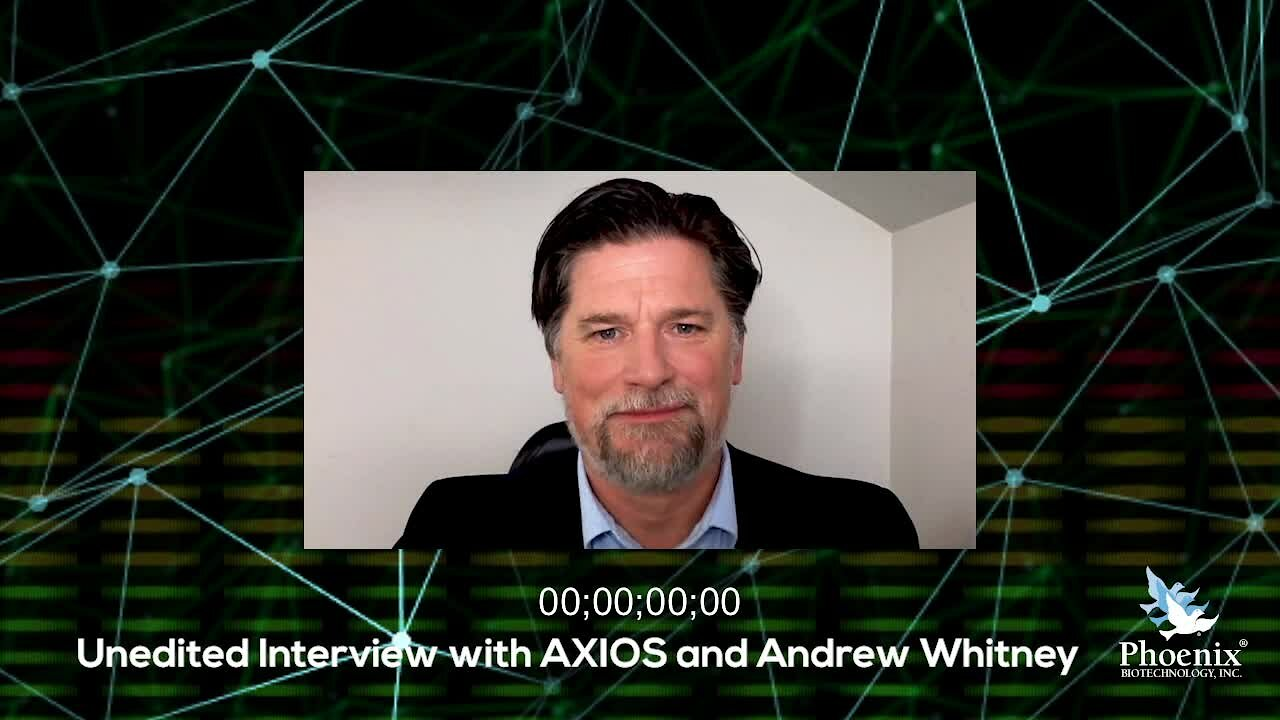 Video poster The Unedited Interview with AXIOS and Andrew Whitney