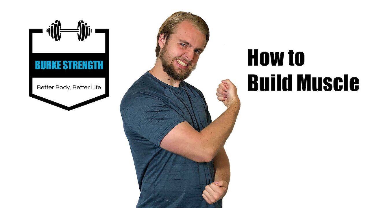 Video poster How to Build Muscle