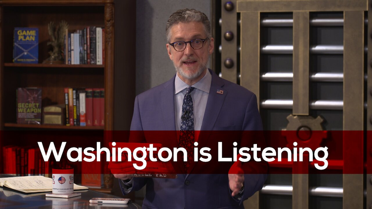 Video poster Together, We Are Making A Difference — You Have Made Washington Listen!