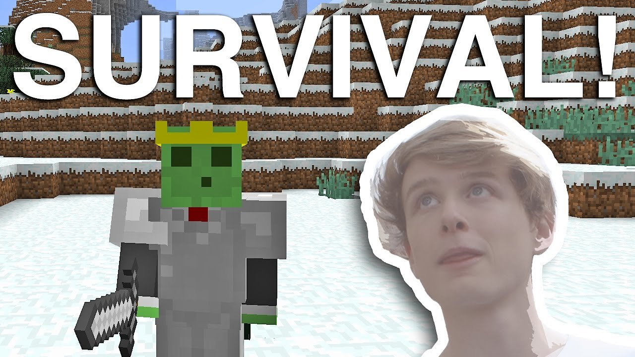 Video poster Minecraft Survival Live! [Episode: 2 | The Igloo]