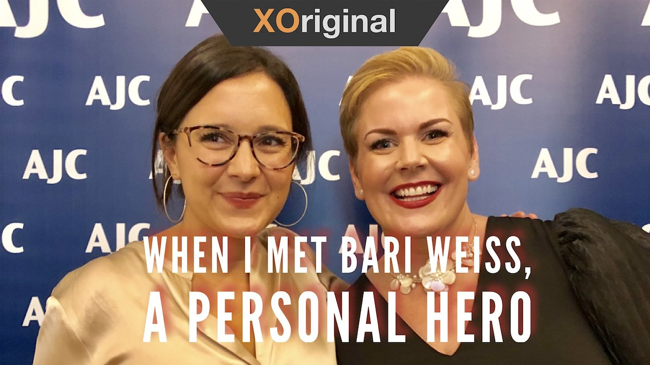 Video poster When I Met Bari Weiss, a Personal Hero