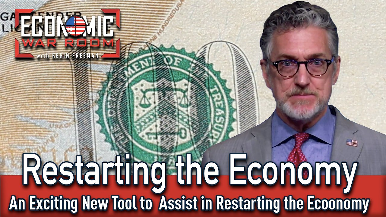 Video poster An Exciting New Tool That Will Help Relaunch the Economy | Guest: Benjamin Nieuwsma