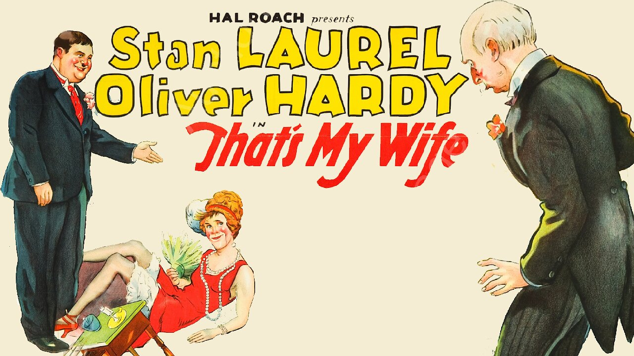 Video poster Laurel & Hardy: That's My Wife (1929)
