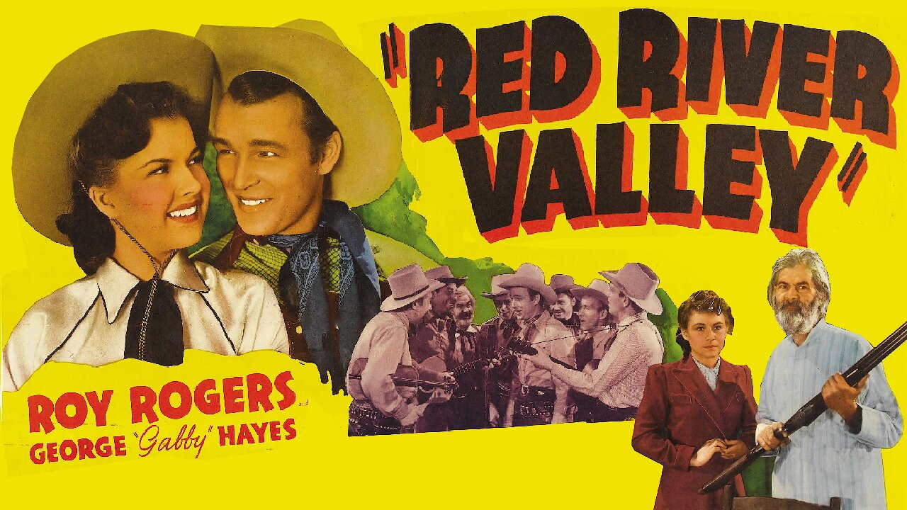 Video poster Roy Rogers: Red River Valley (1941)