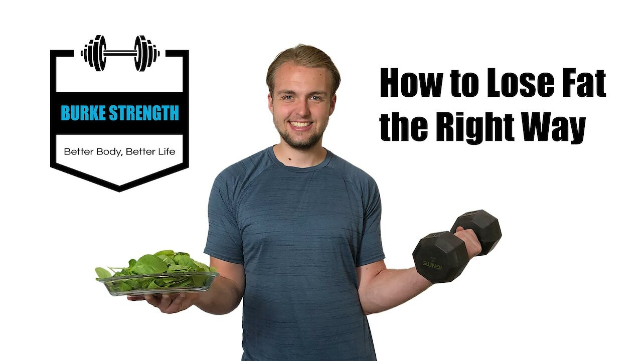Video poster How to Lose Fat the Right Way