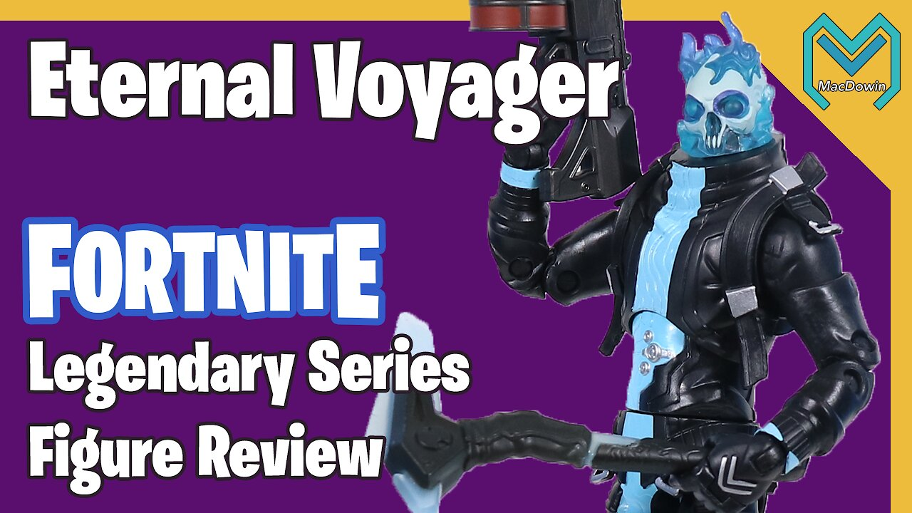 Video poster *NEW ETERNAL VOYAGER LEGENDARY SERIES 2020* | Action Figure Review | Jazwares Fortnite