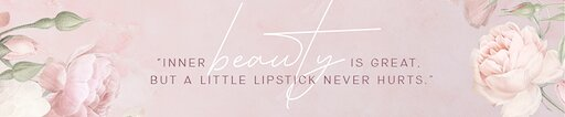 Channel banner Beauty by Candice